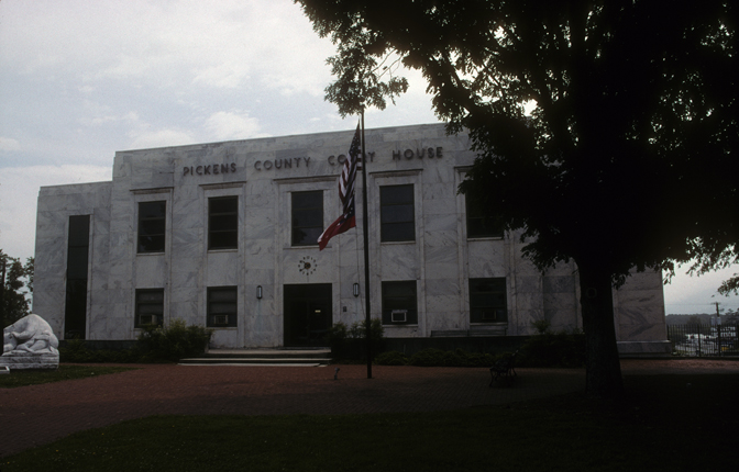 Pickens County Georgia Courthouse