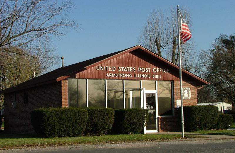 Armstrong Illinois post office