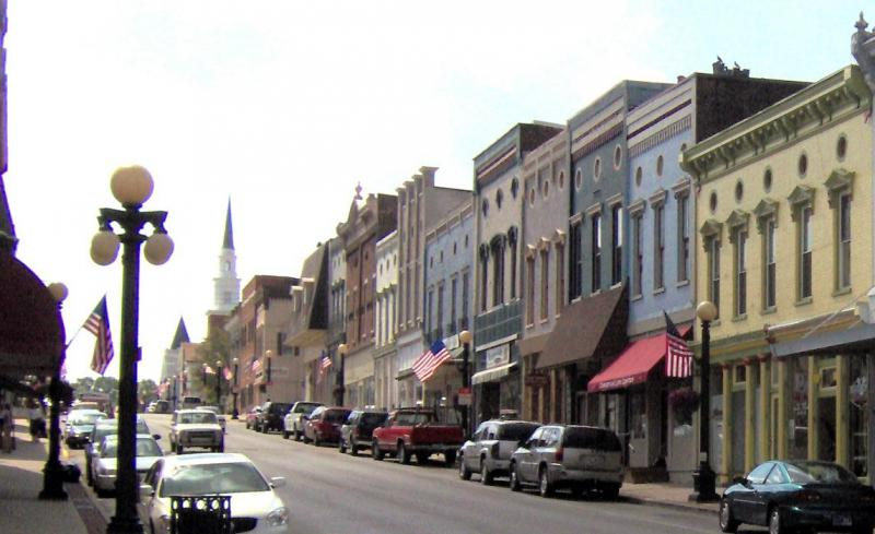 Downtown Harrodsburg Kentucky 2