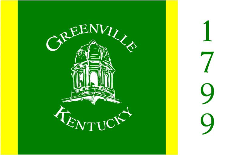 Flag of Greenville Kentucky