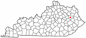 K Y Map-doton- West Liberty