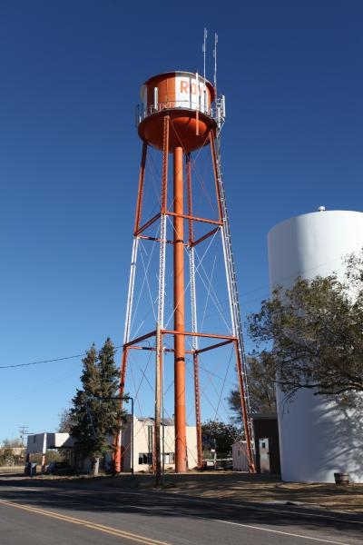 Water Tower Roy New Mexico 2010