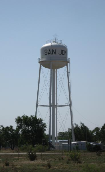 San Jon New Mexico Water Tower